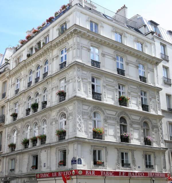 Architecture de style Louis-Philippe