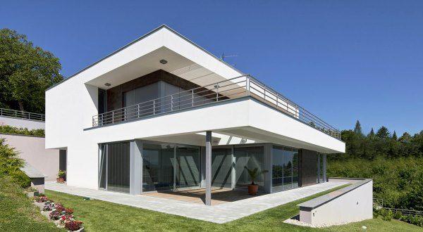 Villa contemporaine réalisée par un architecte
