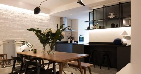 Appartement rénové avec espaces repensés