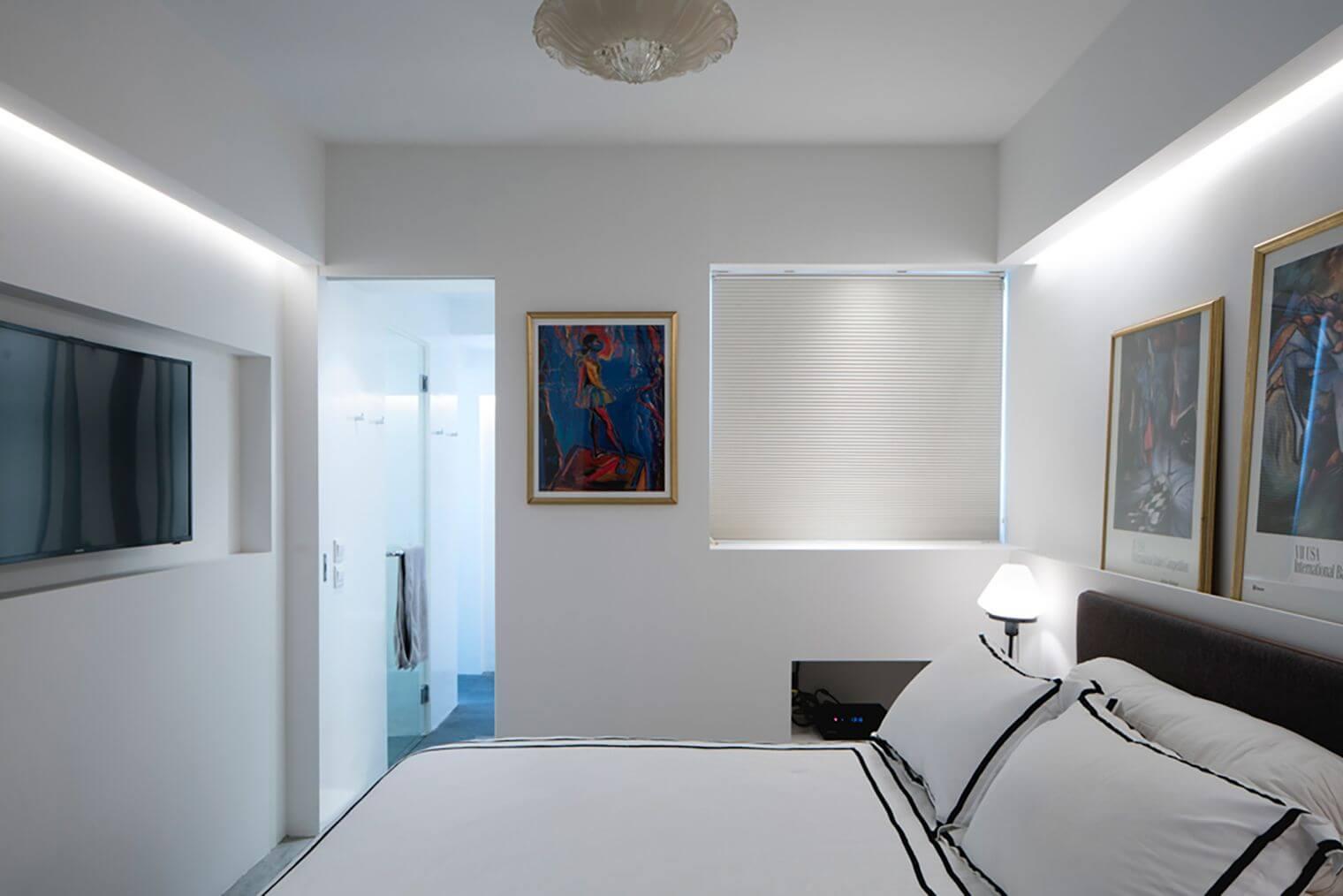 Rénovation chambre appartement moderne