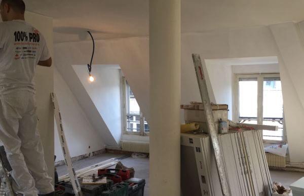 Travaux de rénovation à Lyon